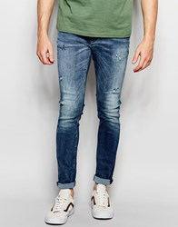 Jack And Jones Jack And Jones Skinny Fit Jeans In Blue Blue
