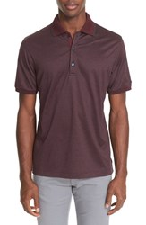 Paul And Shark Men's Tipped Stripe Jersey Polo
