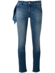 Jacob Cohen Jocelyn Jeans Women Cotton Polyester Spandex Elastane 25 Blue