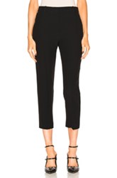 Alexander Mcqueen Cigarette Trousers In Black