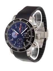 Fortis 'Pc 7 Team Chronograph' Analog Watch Stainless Steel