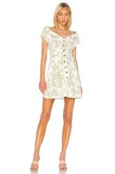 Free People A Thing Called Love Mini Dress White