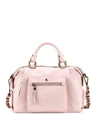 Elliott Lucca Cosette Leather Satchel Pale Pink