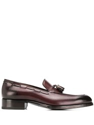 Tom Ford Tassel Detailed Loafers Brown