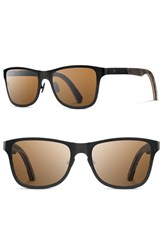 Shwood Men's Canby 54Mm Polarized Pine Cone And Titanium Sunglasses