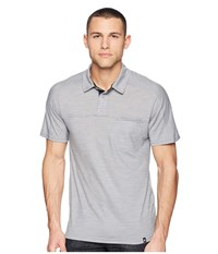 Smartwool Everyday Exploration Polo Light Gray Clothing