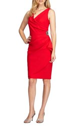 Alex Evenings Women's Side Ruched Dress