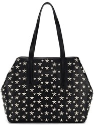 Jimmy Choo Star Stud Tote Bag Black