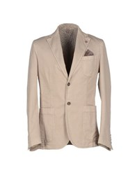 Roberto Pepe Suits And Jackets Blazers Men Beige
