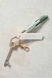 Anthropologie Idiom Keyring Pistachio