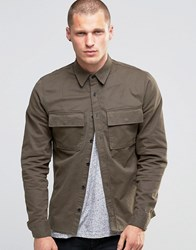 Religion Military Shirt Khaki Green