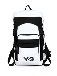 Y 3 Ultratech Colorblock Backpack White