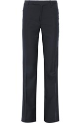 Joseph Rocker Super 100 Wool Twill Straight Leg Pants Midnight Blue