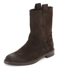 3.1 Phillip Lim Brad Suede Pull On Boot Brown