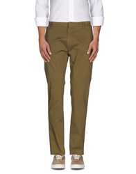 Msgm Trousers Casual Trousers Men Military Green