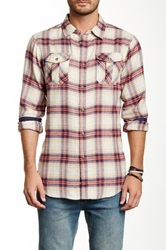 Burnside Plaid Long Sleeve Shirt Gray