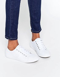 Fred Perry Kingston White Leather Trainers White White