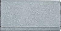 Valextra Large Wallet With Card Case Grey