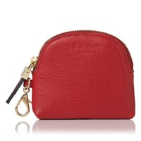 Lk Bennett L.K. Raven Small Zip Coin Purses Red