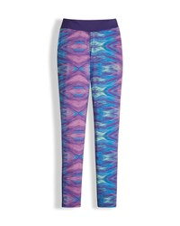 The North Face Printed Pulse Stretch Leggings Purple