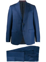Etro Straight Fit Two Piece Suit 60