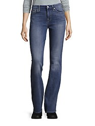 7 For All Mankind Bootcut Cotton Blend Jeans Crystal Bay