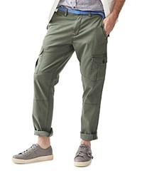 Michael Bastian Cavalry Linen Twill Cargo Regular Fit Pants 100 Bloomingdale's Exclusive Agave Green