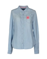 Superdry Denim Denim Shirts Women