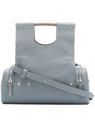 Corto Moltedo Priscilla Medium Tote Bag Grey