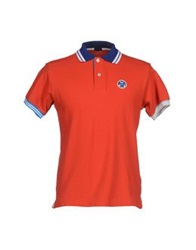 North Sails Polo Shirts Red