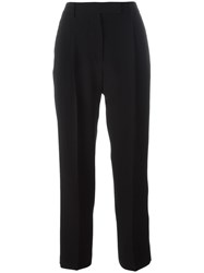 Alberto Biani Tailored Cropped Trousers Black