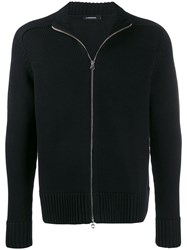 J. Lindeberg J.Lindeberg Timon Zip Up Cardigan Black