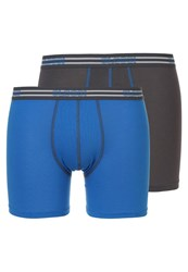 Sloggi 2 Pack Shorts Dark Gray Blue Dark Grey