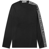 Givenchy Taped Crew Knit Black