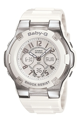 Baby G Dual Movement Watch 44Mm X 40Mm White