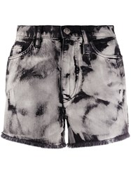 Pinko Bleached Effect Shorts 60