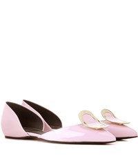Roger Vivier Dorsay Sexy Choc Patent Leather Ballerinas Pink
