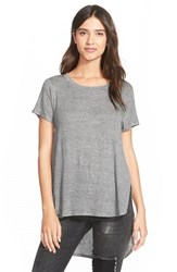 Junior Women's Project Social T Lightweight Crewneck Side Split Tee