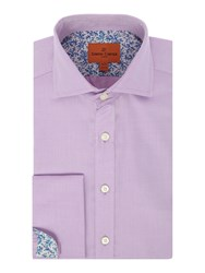 Simon Carter Men's Twill Cooper Shirt Pink