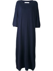 Societe Anonyme Maxi Pull Dress Blue