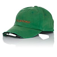 Vetements Tuesday Weekday Cotton Cap Green