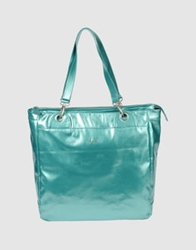 Gas Jeans Gas Large Fabric Bags Turquoise
