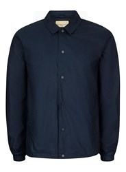 Selected Homme Dark Blue Coach Jacket