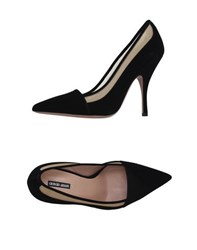 Giorgio Armani Footwear Courts Women Black
