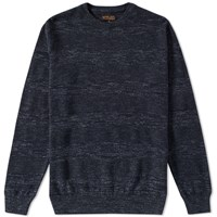 Barbour Vernon Crew Knit Blue