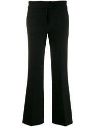 Genny Flared Tailored Trousers Black
