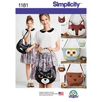 Simplicity Craft Bag Sewing Pattern 1181 One Size