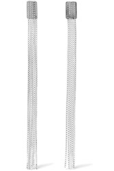 Saskia Diez Fringe Silver Earrings