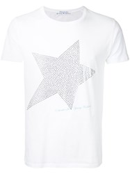 Education From Youngmachines Studded Star T Shirt White