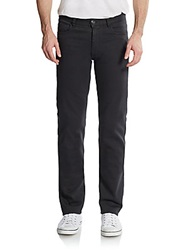 Canali Five Pocket Straight Leg Jeans Black